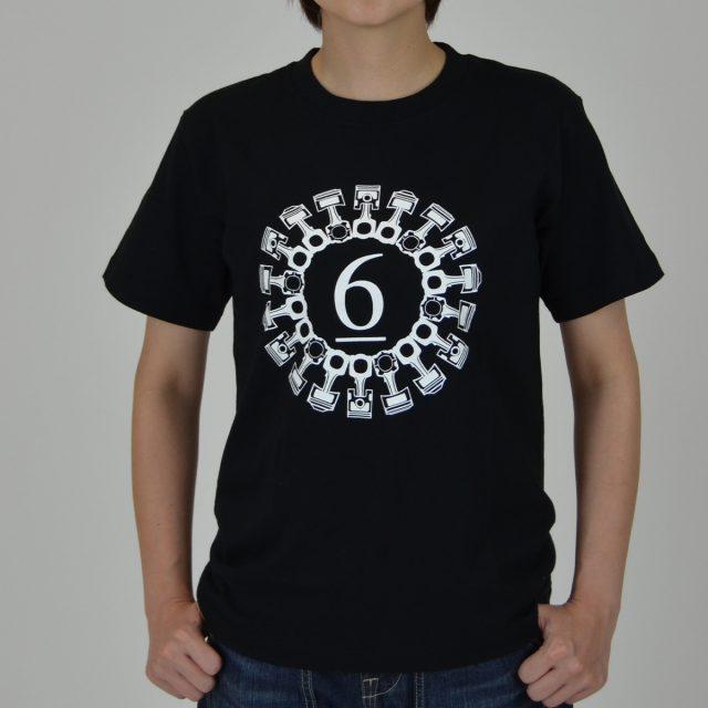 6輪Tシャツ